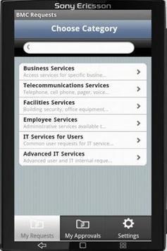 BMC Requests apk screenshot