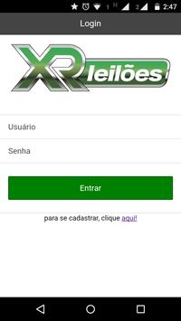XR Leilões apk screenshot