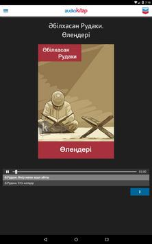 Audiokitap apk screenshot