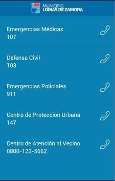 Municipalidad Lomas de Zamora apk screenshot