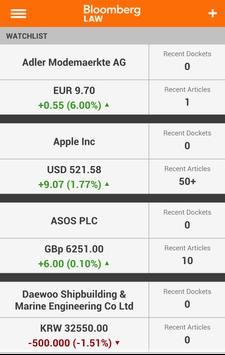 Bloomberg Law apk screenshot