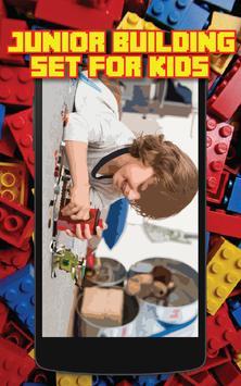 Junior Building Set for Kids poster