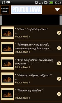 Pitutur Jawa apk screenshot