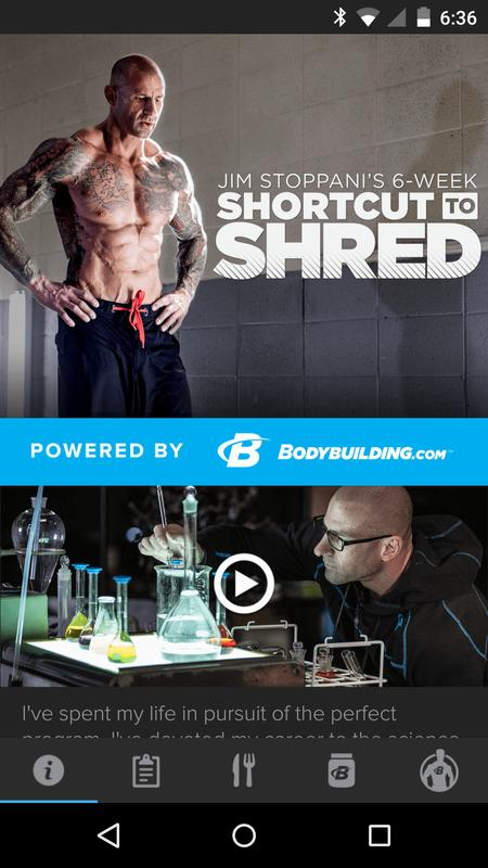 Jim Stoppani Shortcut to Shred APK Download - Free ...
