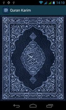 Holy Quran (read and reading) apk screenshot