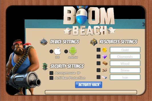 BOSS Hack for Boom Beach 16 apk screenshot