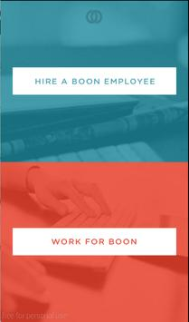 Boon - On Demand Staffing poster
