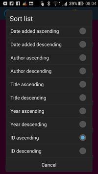 Book Reminder apk screenshot