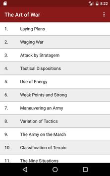 The Art of War apk screenshot