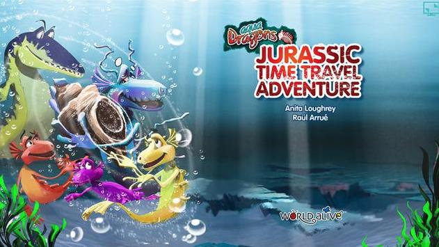 Aqua Dragons Jurassic Time poster