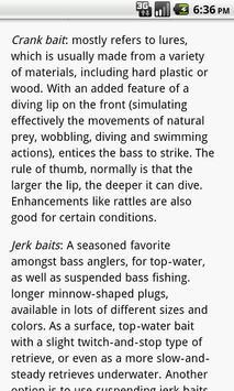 Bass Fishing 101 apk screenshot