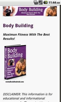 Body Building Guide apk screenshot