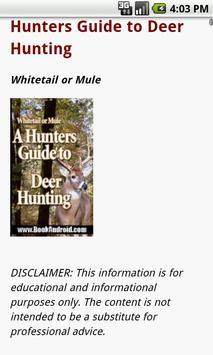 Deer Hunting Guide apk screenshot