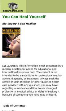 Heal Yourself apk screenshot
