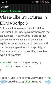 JavaScript ES6 apk screenshot