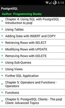 PostgreSQL Tutorial poster