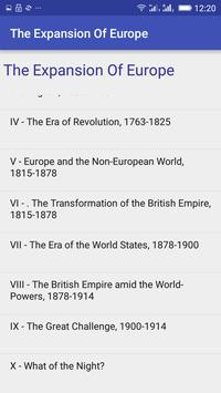 The Expansion Of Europe apk screenshot