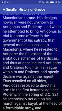 A Smaller History of Greece apk screenshot