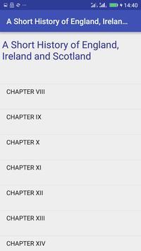 England, Ireland and Scotland apk screenshot