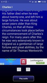 Charles I apk screenshot