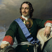 Peter the Great icon