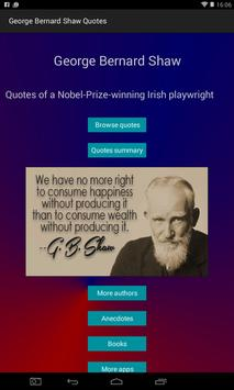 George Bernard Shaw Quotes poster