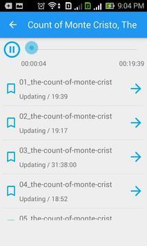 Free audiobooks in English apk screenshot
