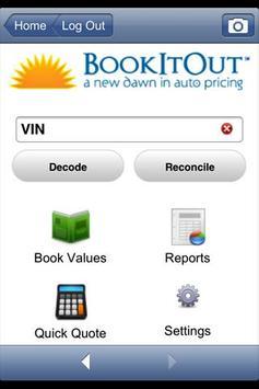 BookItOut VIN Scanner Plus poster
