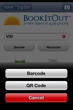 BookItOut VIN Scanner Plus apk screenshot