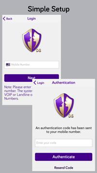 ShieldMeDS Call Control apk screenshot