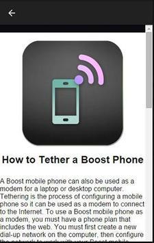 Boost Mobile Network apk screenshot