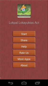 Lokpal & Lokayuktas Act poster