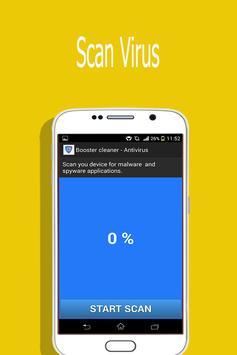 Booster cleaner & Antivirus apk screenshot