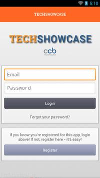 CCB TechShowcase 2015 BoothTag poster