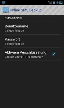 SMS Backup & Restore Online apk screenshot