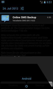 SMS Backup & Restore Online poster