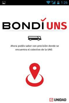 BondiUNS poster