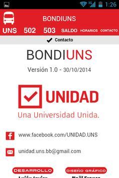 BondiUNS apk screenshot