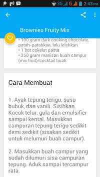 Resep Olahan Buah apk screenshot