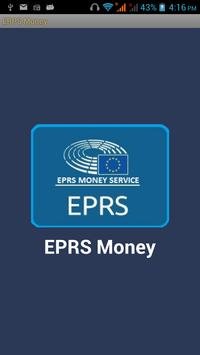 EPRS Money Transfer & Recharge poster