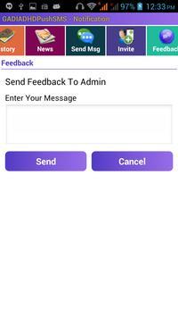 Gadia Live market Sms Notify apk screenshot
