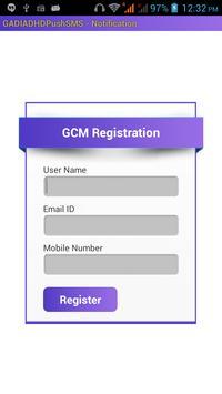 Gadia Live market Sms Notify poster