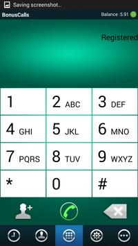 BONUS CALLS apk screenshot