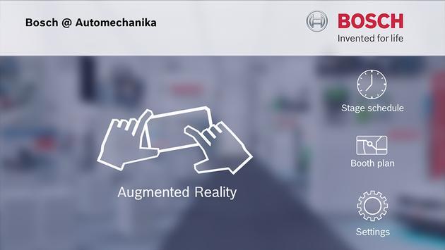 Bosch at Automechanika 2014 apk screenshot