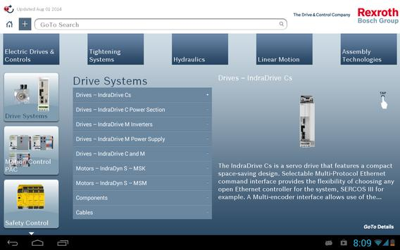 GoTo Products by Bosch Rexroth apk screenshot