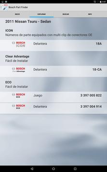 Bosch Mex Vehicle Part Finder apk screenshot