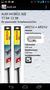 Bosch Scheibenwischer Singles apk screenshot