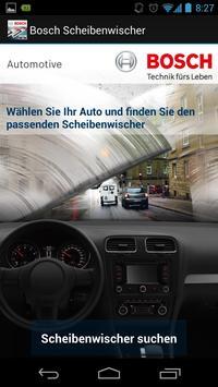 Bosch Scheibenwischer Singles poster