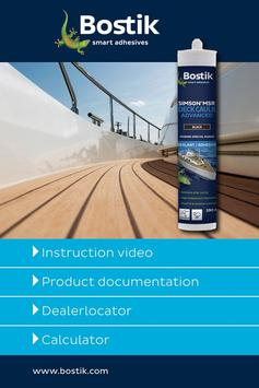 Bostik Marine Solutions poster