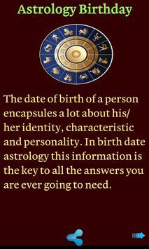 Astrology Birthday apk screenshot